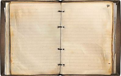 Blank pages to write on
