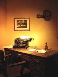 Novel writing.